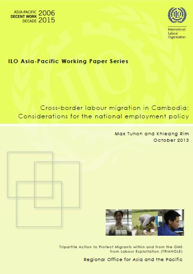 Cross-Border Labour Migration in Cambodia: Considerations for the National Employment Policy